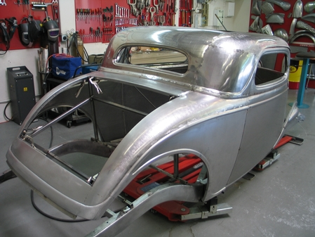 33 Ford 3W Coupe, Step 2 class Project