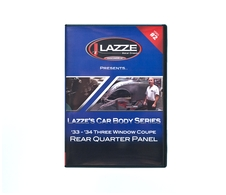 LAZZE's Car Body Series, DVD Video #2 Rear quarter panel