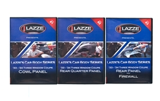 LAZZE's Car Body Series,         DVD Pkg # 1-2-3