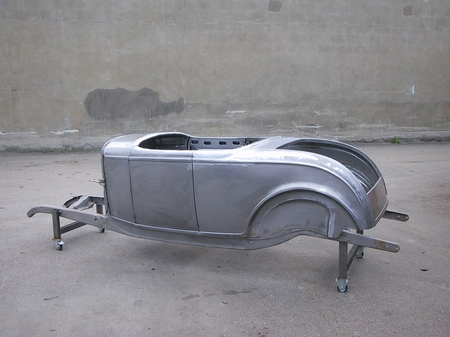 32 Ford Roadster, Step 2 class Project.