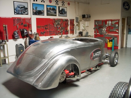 36 Ford Roadster, Step 2 class Project.