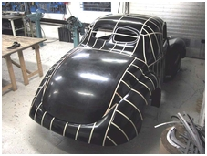 Willys Glass body Picture