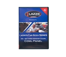 LAZZE's Car Body Series, DVD Video #1 Cowl Panel