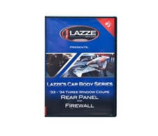 LAZZE's Car Body Series, DVD Video #3 Rear Panel behind trunklid & Firewall