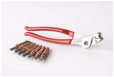 """Cleco plier and 10 each 1/8"""" clecos"""